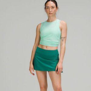 NWT lululemon Teal Lagoon Play off Peats Skirt 4